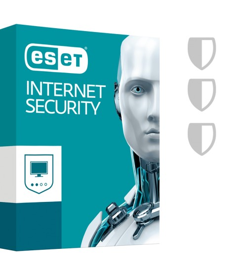 Eset Internet Security (Multiposte renouvellement)