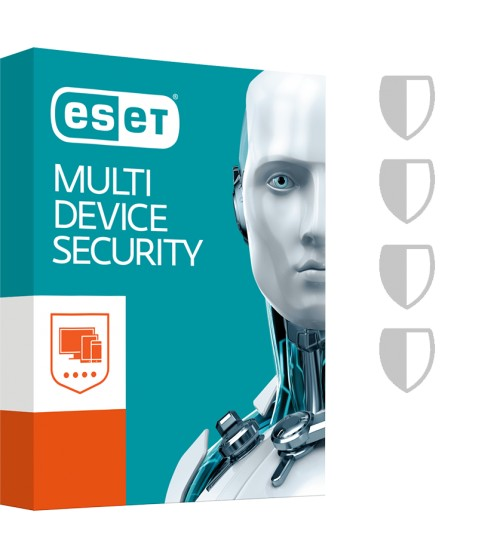 Boite retail ESET Multi-Device Security Pack à télécharger