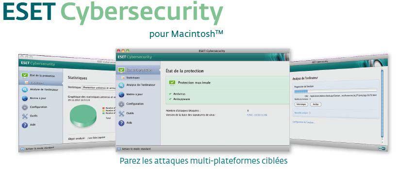 ESET Cybersecurity pour Mac antivirus